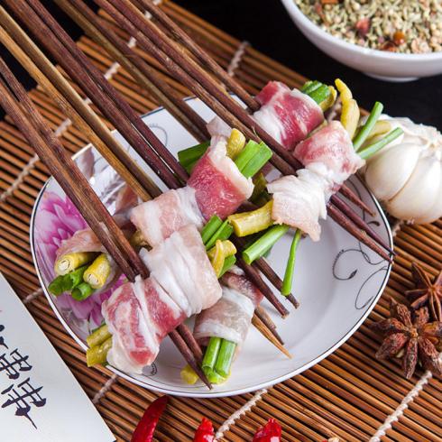 奥龙串串-豇豆五花肉