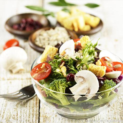 麦勒士西式快餐-缤纷时蔬沙拉