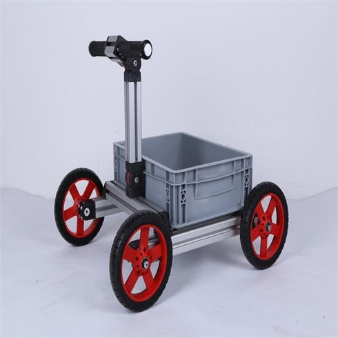 淘气神童魔变童车-四轮学步车
