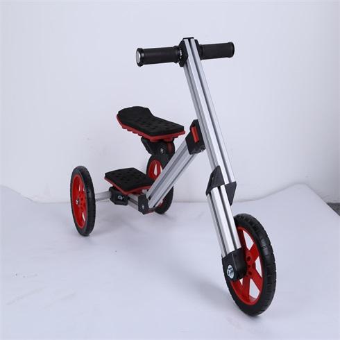 淘气神童魔变童车-三轮平衡车