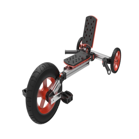 淘气神童魔变童车-卧式踏板车