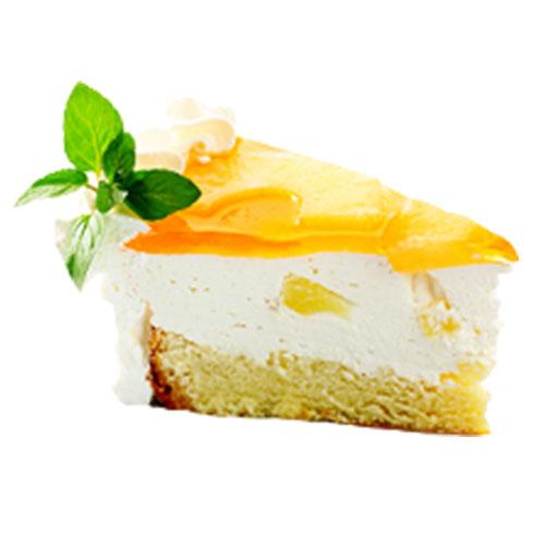 蓝约小镇冰淇淋-芒果蛋糕