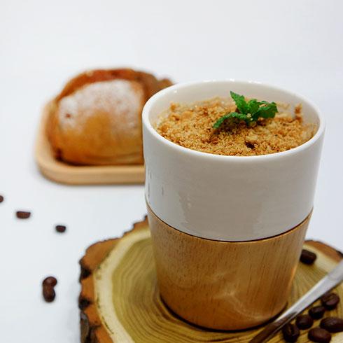 半点时光茶饮-盆栽奶茶