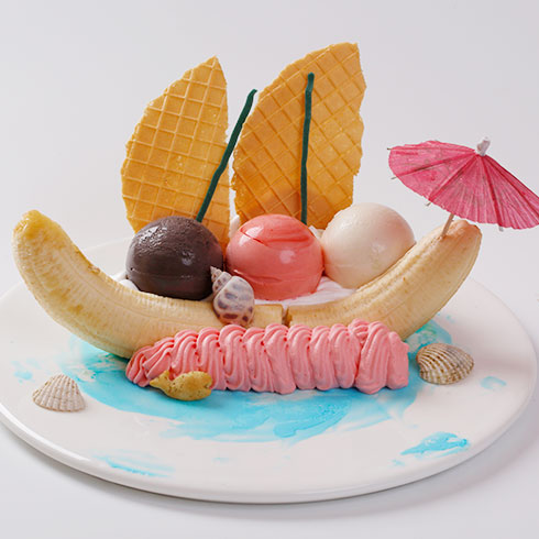 爱的脚印冰淇淋,小巧可爱的小脚印,就像小婴儿的脚一样,让人看着就舍