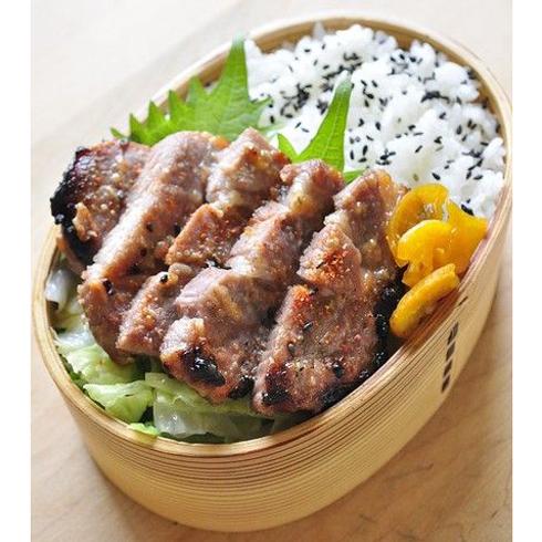 简稻便当-黑椒牛排饭