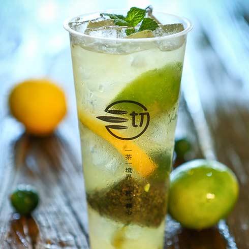 沏妙茶茶饮-柠檬绿茶