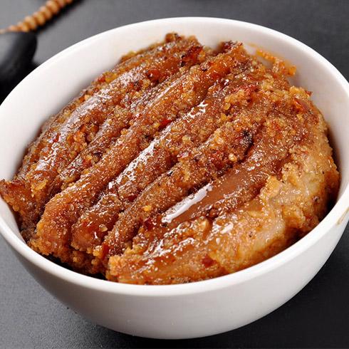 蒸像様自助快餐-米粉蒸肉