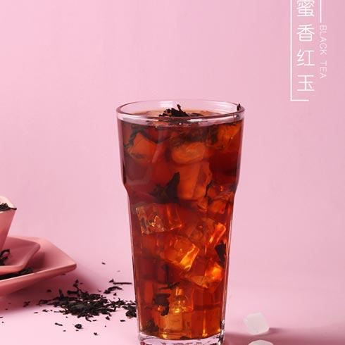 冰雪时光饮品-蜜香红玉