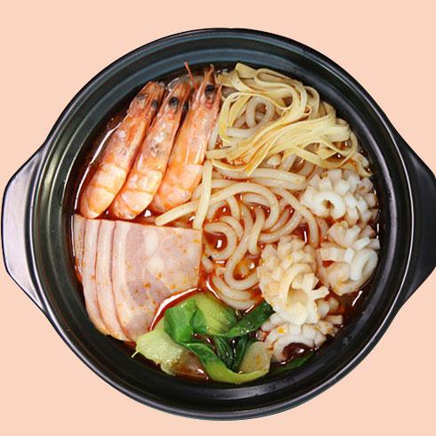 巧味岛米线-火腿鲜虾米粉