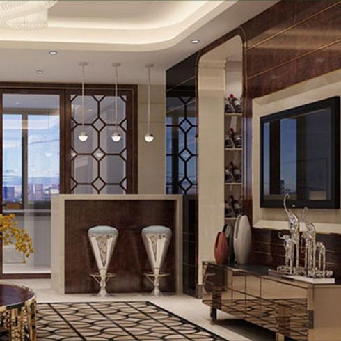 亿嘉利全屋整装-现代豪华客厅