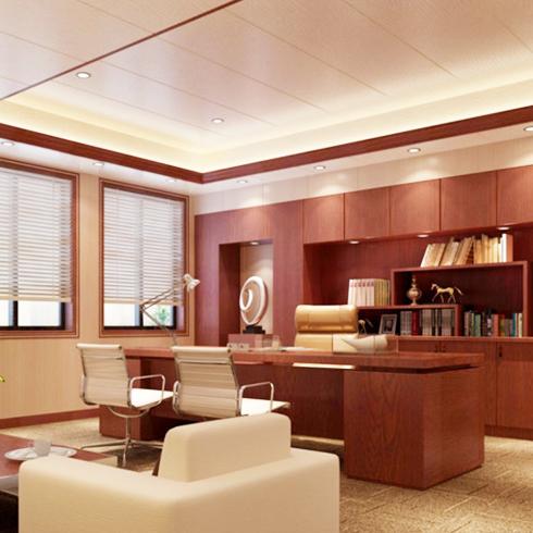 亿嘉利全屋整装-现代中式办公室