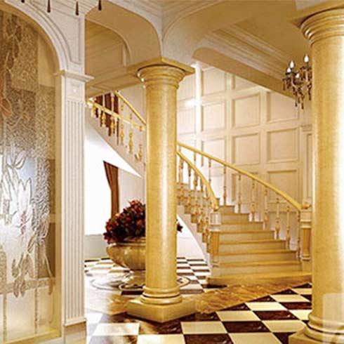 木雕欧式楼梯柱子图片