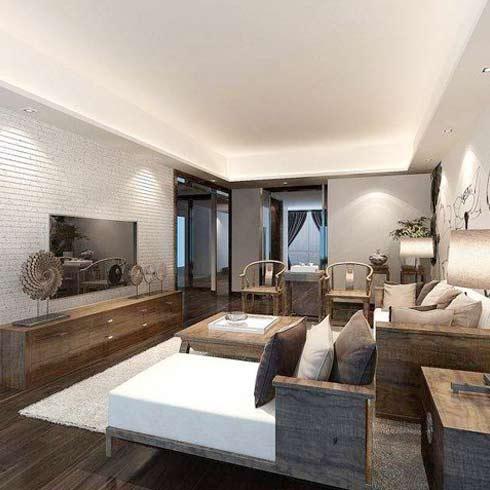 芭莉风情全屋整装-新古典客厅