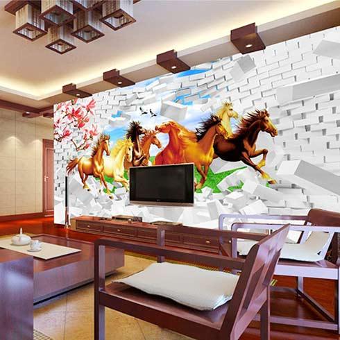 芭莉风情全屋整装-3d电视背景墙