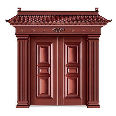 弘宇智能门窗-仿铜门