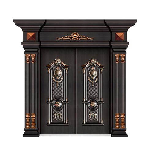 弘宇智能门窗-铜铝门