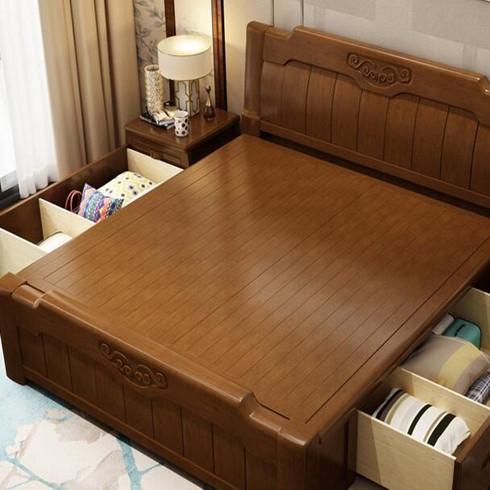 华尊瑞宝-实木床