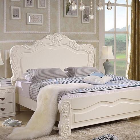 华尊瑞宝-欧式白色床