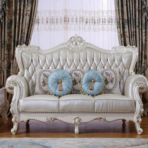 瑞思丽-真皮沙发