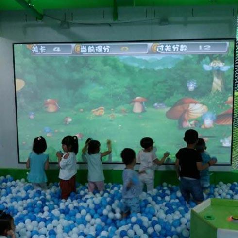 鱼你同乐吃奶鱼-儿童投影乐园