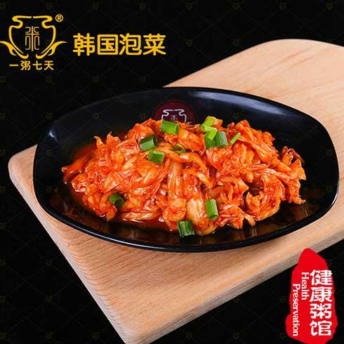 一粥七天养生粥-韩国泡菜