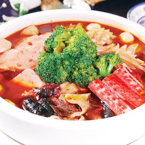 九街婆婆串串香-红汤麻辣烫