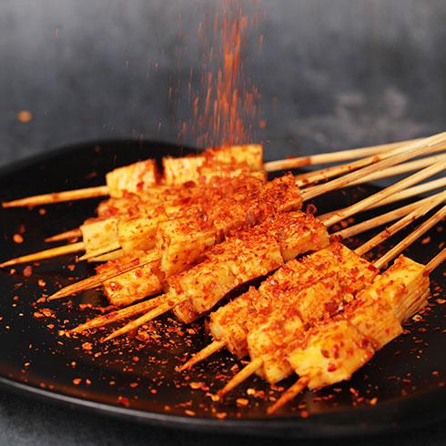 蜀锅串串-千叶豆干烤串