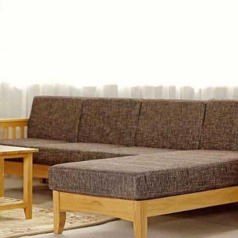 奇绘-实木沙发