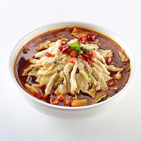 饭儿风酸菜鱼饭-招牌麻香鸡饭