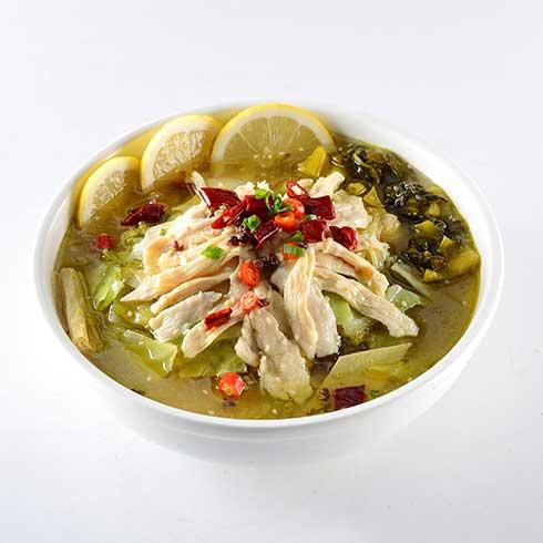 饭儿风酸菜鱼饭-金汤柠檬鸡饭