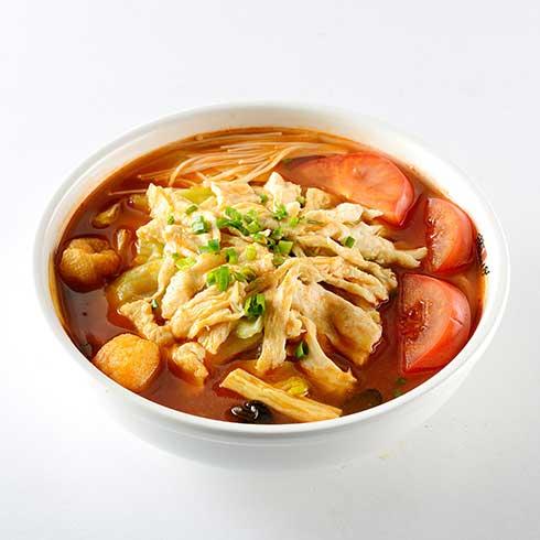饭儿风酸菜鱼饭-风味番茄鸡饭