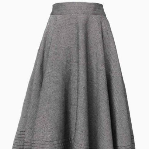中基-淑女半身裙