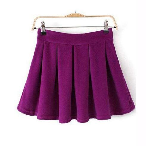 中基-时尚褶皱裙