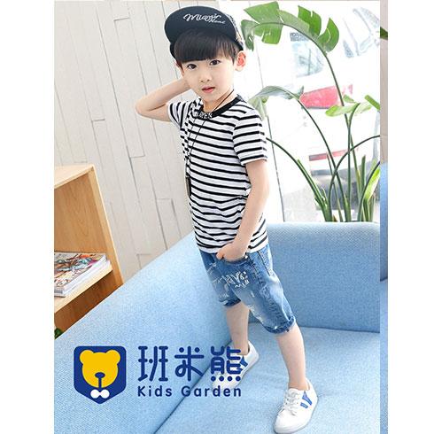 班米熊潮牌童装-帅气时尚短袖
