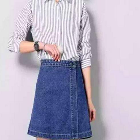 Sisjuly-牛仔裙