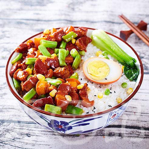 张吉记砂锅饭-卤肉饭