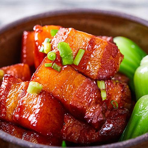 张吉记砂锅饭-红烧五花肉