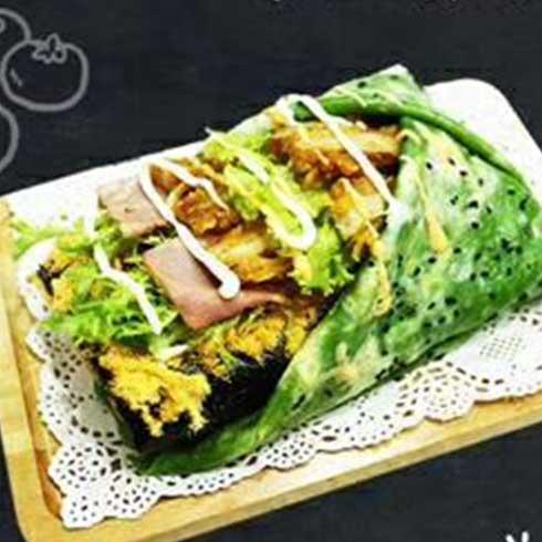 煎饼王-绿豆鸡排煎饼果子