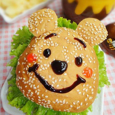 你好猴子儿童餐厅-小熊维尼汉堡