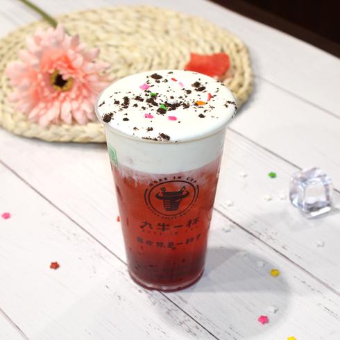 九牛一杯牛排杯-红茶奶盖