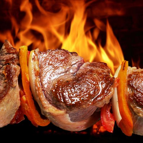 九牛一杯牛排杯-椒烤牛肉串