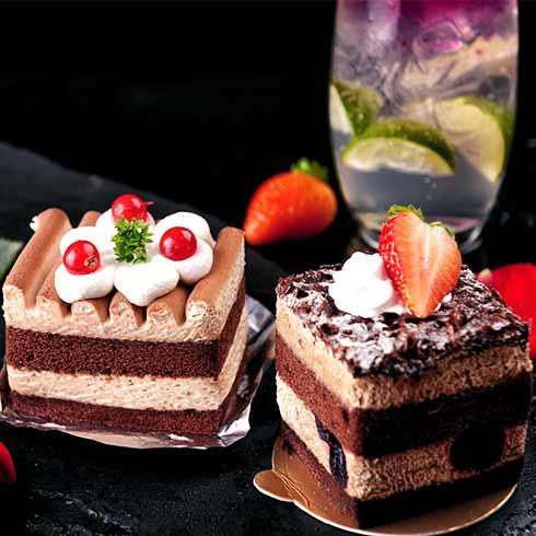 茶咖汇茶饮-巧克力蛋糕