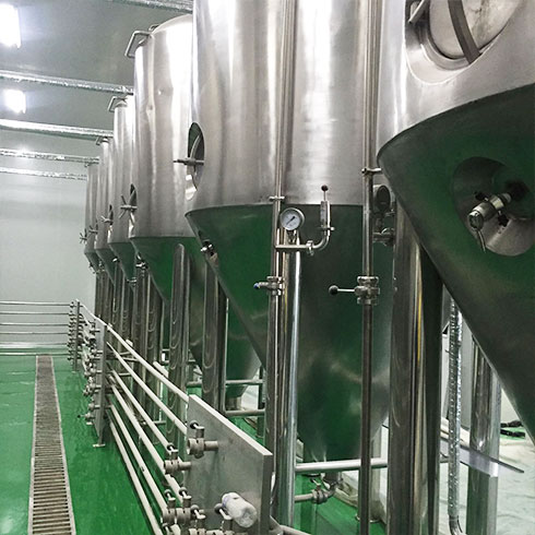 啤啤侠原浆鲜啤-啤酒发酵主要设备