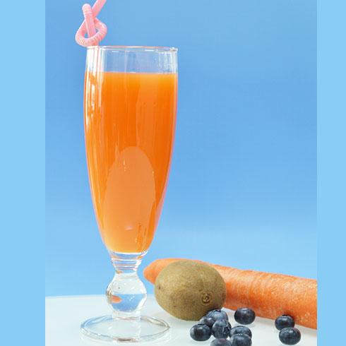 木板凳煎饼果子-胡萝卜汁