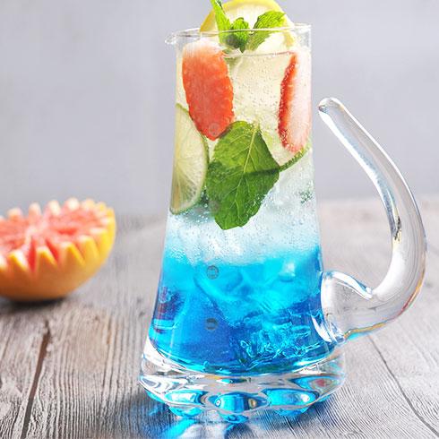 吃杯茶-蓝色夏威夷