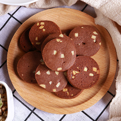真麦粮品烘焙-坚果巧克力曲奇