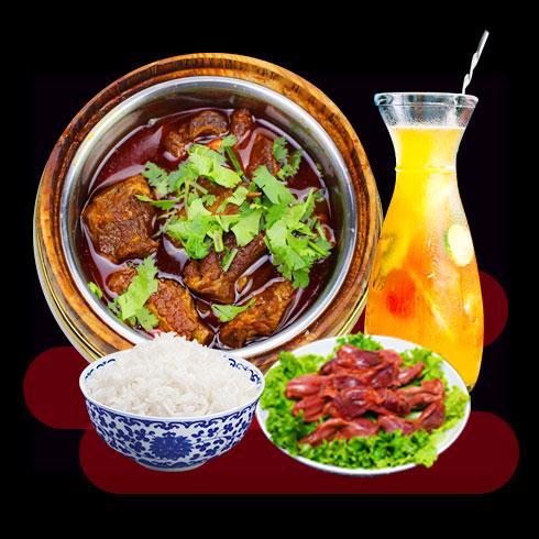 鲜辣鱼生酸菜鱼米饭-木桶秘制排骨饭