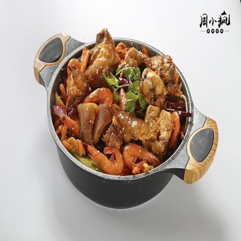 猪蹄虾香锅
