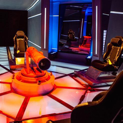 动力时空VR体验馆-VR射击游戏体感