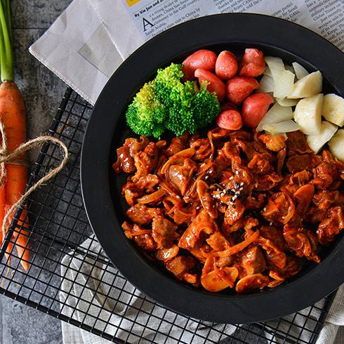 海卷金三顺饭团-韩式烤肉套饭
